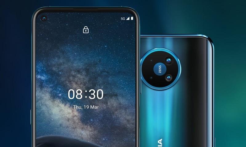 نوکیا کا پہلا 5 جی فون پاکستان میں فروخت کے لیے پیش