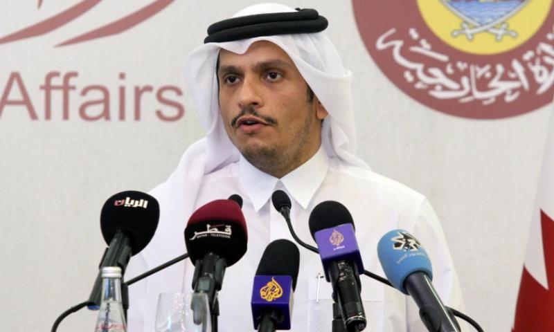 قطری وزیرخارجہ نے عرب ممالک کو مذاکرات کے لیے سہولت فراہم کرنے کا عزم ظاہر کیا — فائل/فوٹو:رائٹرز