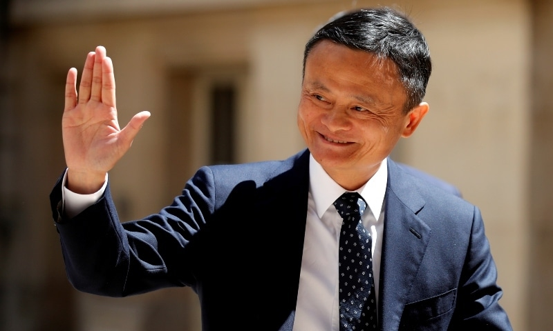 """ack Ma, chairman of Alibaba Group arrives at the """"Tech for Good"""" Summit in Paris, France May 15, 2019. — Reuters"""