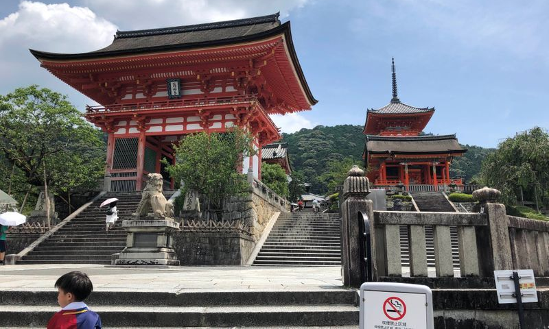 The entrance gate to the normally crowded Kiyomizu temple, a favourite location among tourists, is pictured amid the coronavirus disease outbreak, in Kyoto, Japan, July 21, 2020. — Reuters