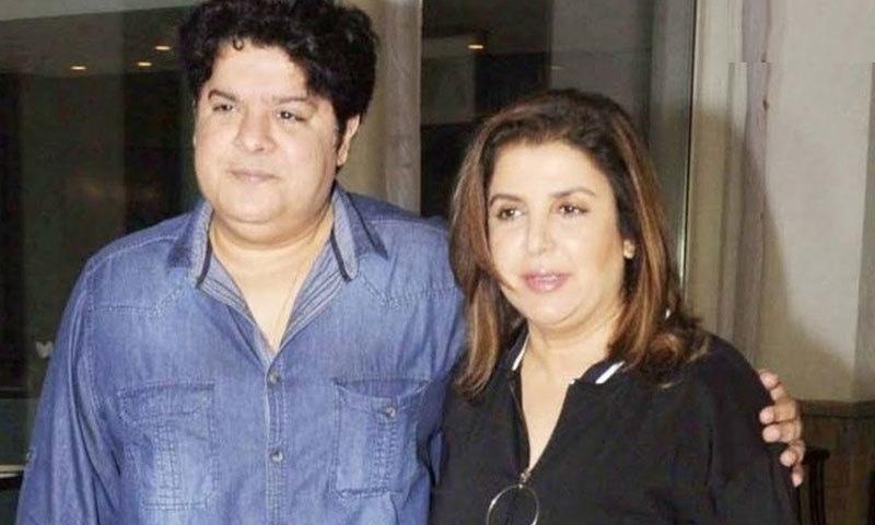 ساجد خان فلم ساز فرح خان کے بھائی ہیں—فائل فوٹو: فیس بک
