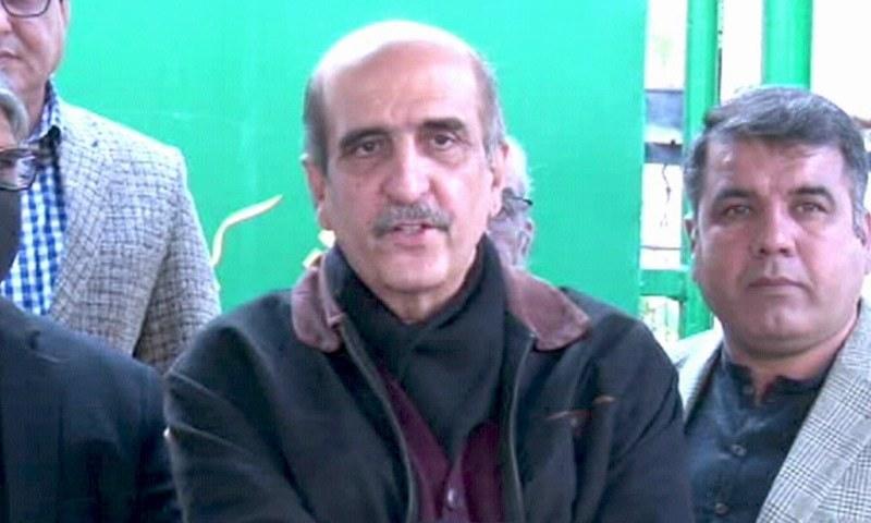 اکبر ایس بابر نے کہا کہ ہم پہلے دن سے کہہ رہے ہیں کہ یہ کمیٹی ناکام ہوچکی ہے — فوٹو: ڈان نیوز