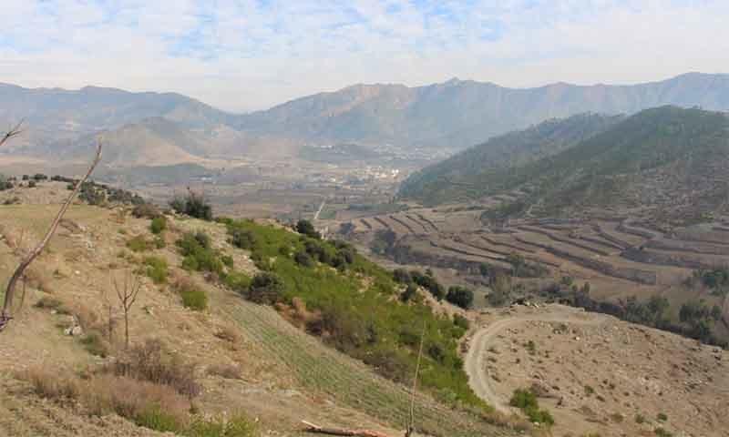 نیمو گرام آثارِ قدیمہ سے نظر آنے والا علاقہ