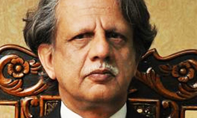 وزیر اعظم عمران خان نے جسٹس ریٹائرڈ شیخ عظمت سعید کو براڈشیٹ انکوائری کمیٹی کا سربراہ مقرر کیا ہے— فائل فوٹو بشکریہ سپریم کورٹ ویب سائٹ