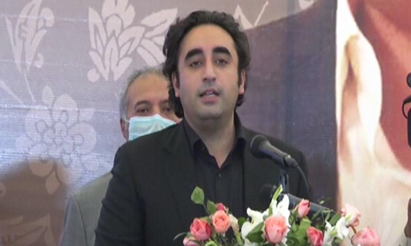 بلاول بھٹو زرداری نے کہا کہ حکومت سندھ نے ٹیکس ریونیو میں اضافہ کیا — فوٹو: ڈان نیوز