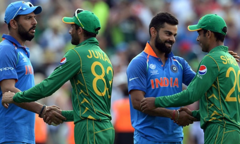 India and Pakistan matches have always been closely and fiercely contested but there is mutual respect for each other's cricket. — File photo