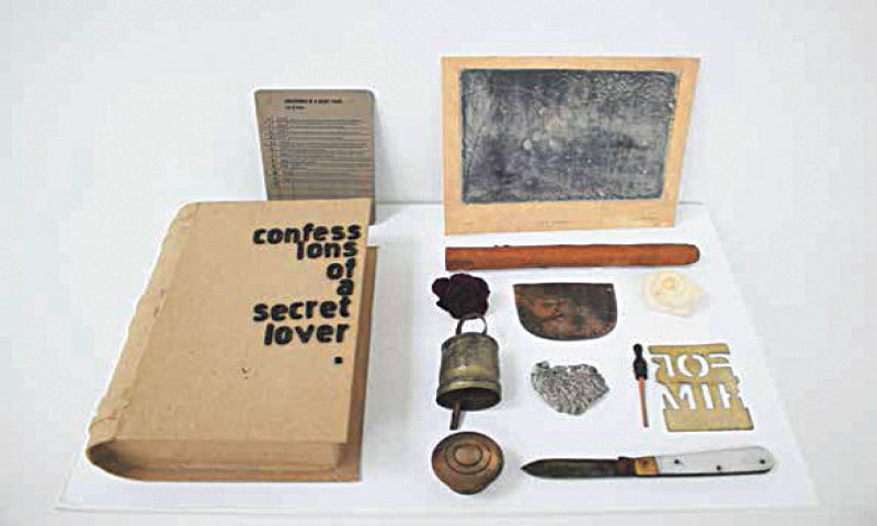 Confessions Of A Secret Lover, 2016 Collection Of Ten Stolen Items From 2006 to 2016, Mohsin Shafi