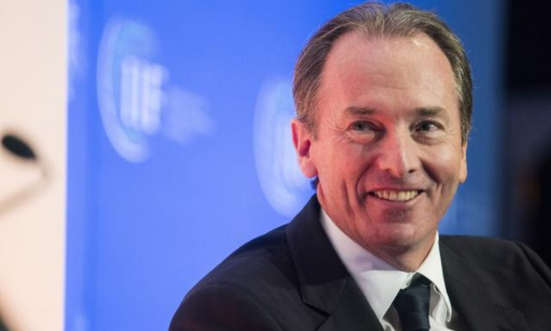 Morgan Stanley Chief Executive James Gorman's annual pay rose by $6 million, or 22 per cent, last year. — Reuters/File