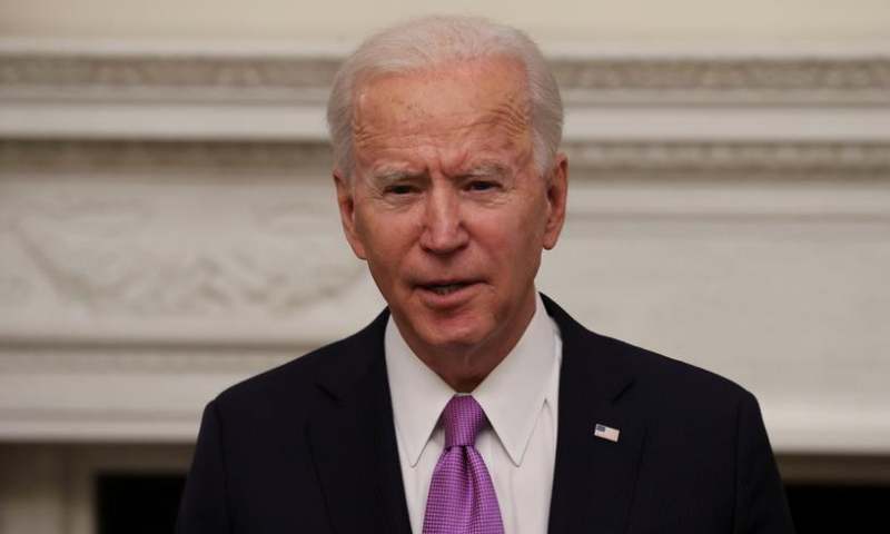 US President Joe Biden speaks about his administration's plans to fight the coronavirus during a Covid-19 response event at the White House in Washington, US on Jan 21. — Reuters/File