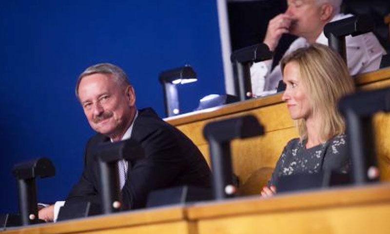 کاجا کلاس کے والد بھی اسٹونیا کے وزیر اعظم رہ چکے ہیں—فائل فوٹو: بالٹک نیوز