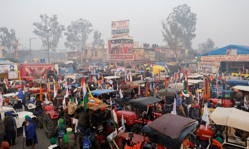 Tractor rally to overshadow India's Republic Day today