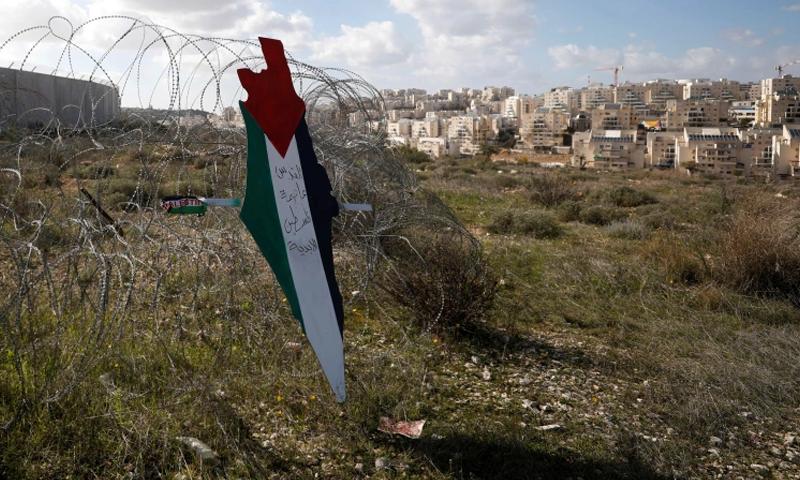 امریکا کی اقوام متحدہ میں اسرائیل ۔ فلسطین کیلئے دو ریاستی حل کی یقین دہانی