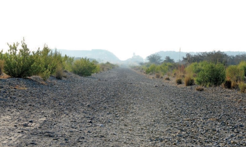 Under the project that started in 2012, an 8.5km portion of Margalla Road is to be constructed. — File photo