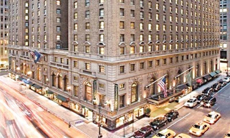 A view of the Roosevelt Hotel is seen in this file photo.