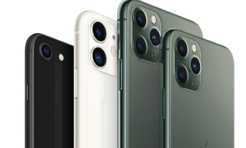 آئی فون 12 سیریز کے فونز — فوٹو بشکریہ ایپل