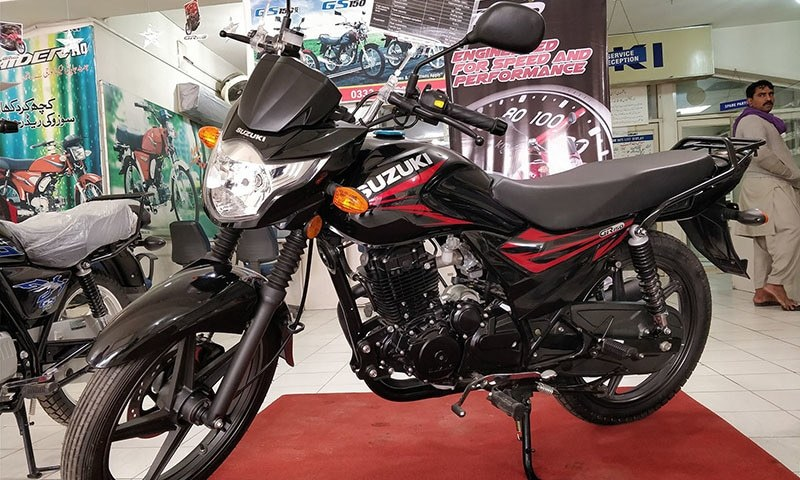 Fully cashing in on a strong demand, Japanese and Chinese bike assemblers have again raised prices by between Rs1,500 and Rs3,400. — Photo courtesy Fahadullah/File