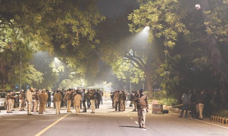 Minor explosion reported near Israel embassy in Delhi