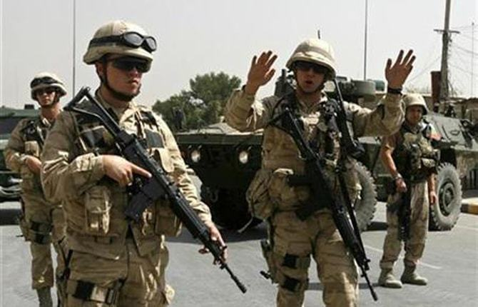 Nato spokeswoman Oana Lungescu said about 10,000 troops, including Americans, are in Afghanistan. — Reuters/ File