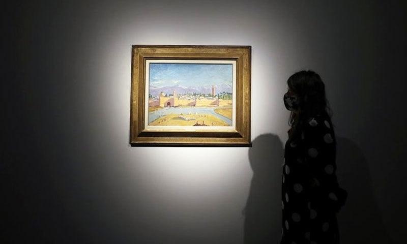 اینجلینا جولی 'مسجد کتبیہ' کی واحد و تاریخی پینٹنگ فروخت کرنے کو تیار