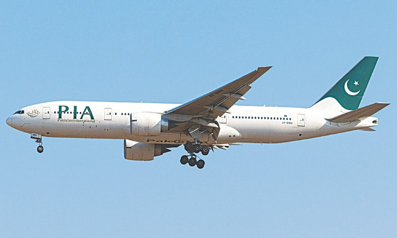 The PIA aircraft, that was impounded in Kuala Lumpur, returns to Islamabad on January 29 | Hassaan Ali Khan