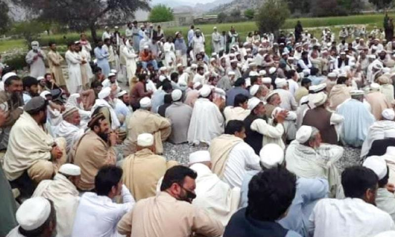 The Khyber Pakhtunkhwa government on Saturday warned Bajaur tribesmen that it would take action against them if they failed to withdraw a local jirga decision of banning women from collecting cash stipends by themselves and making telephone calls to the local FM radio stations. — Dawn