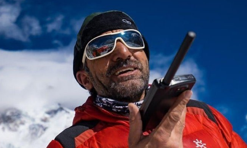 Muhammad Ali Sadpara is the only Pakistani to have climbed eight of the 14 8,000 metre peaks. — Photo: Elia Saikaly
