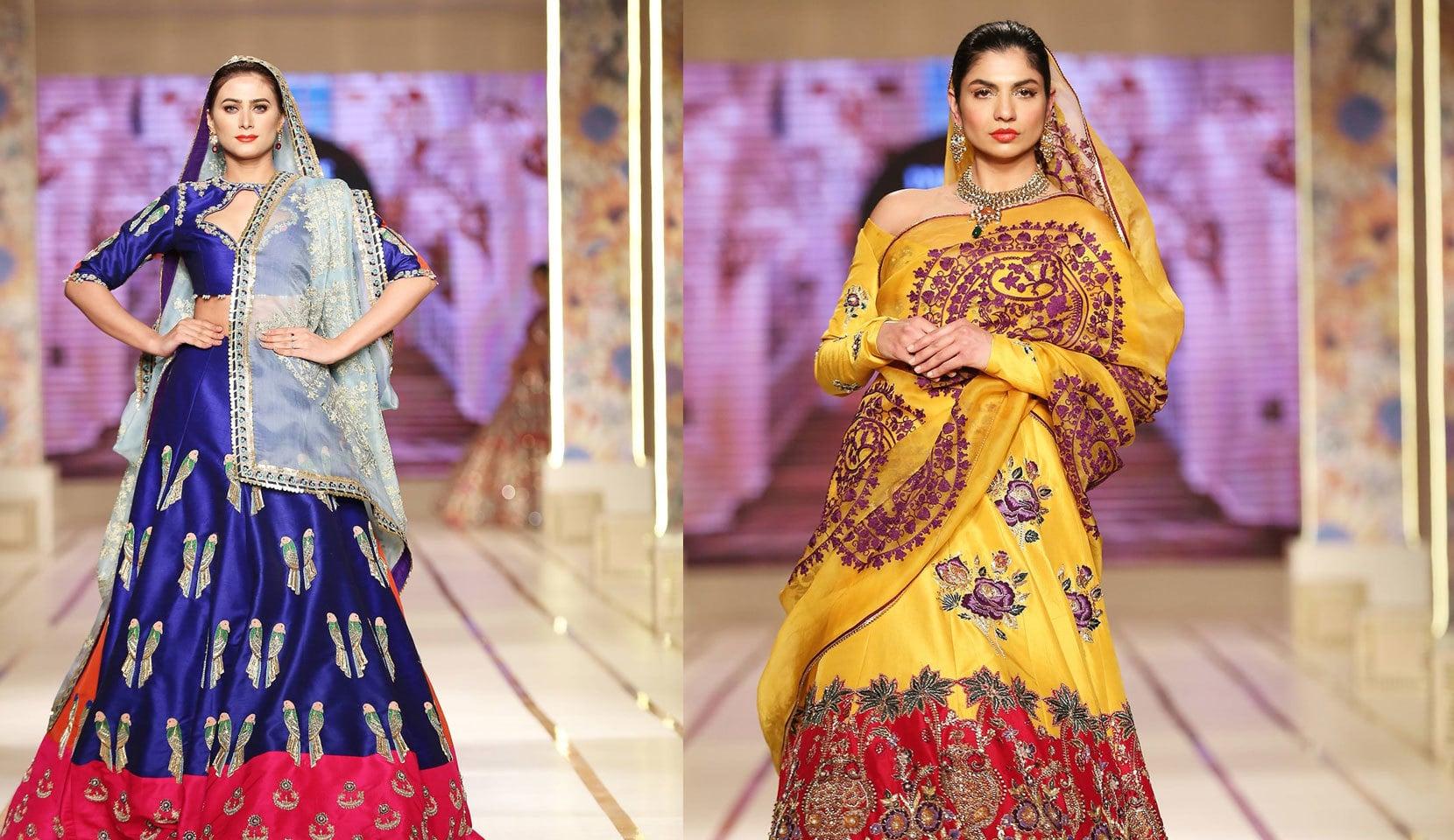 علی ذیشان نے عروسی لباس کے علاوہ بھی ملبوسات پیش کیے