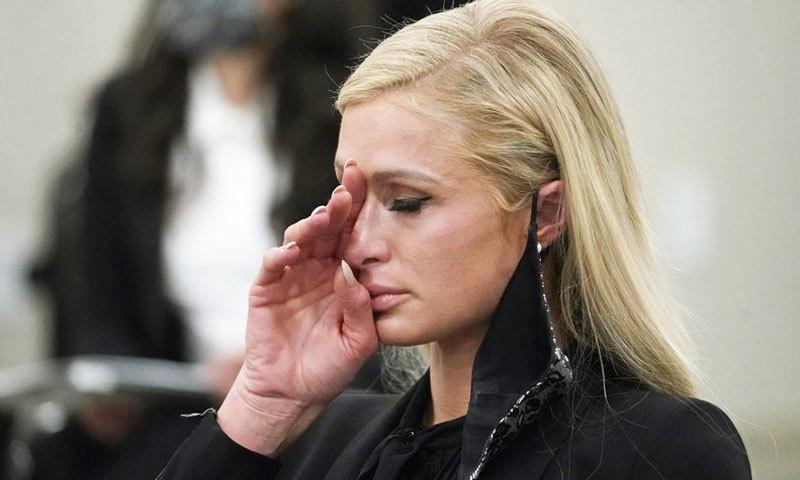 پیرس ہلٹن جنسی استحصال کا واقعہ سناتے ہوئے اشکبار ہوگئیں