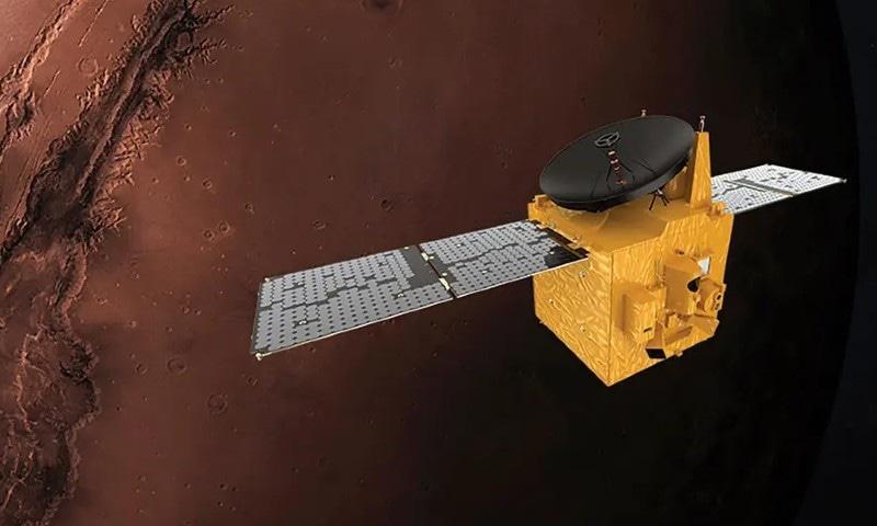یو اے ای کا 'ہوپ مشن' مریخ کے مدار میں داخل ہونے میں کامیاب
