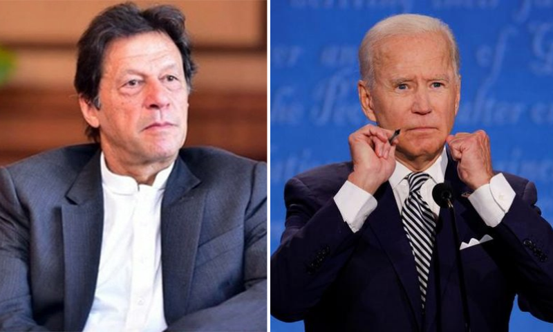 This file photo shows Prime Minister Imran Khan and newly sworn in US President Joe Biden. — PM Imran's Instagram/Reuters