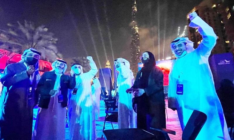 'مریخ' پر پہلے عرب مشن پہنچے پر یو اے ای میں جشن
