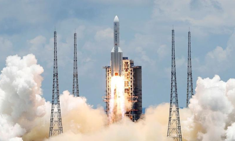 The Long March 5 Y-4 rocket, carrying an unmanned Mars probe of the Tianwen-1 mission, takes off from Wenchang Space Launch Centre in Wenchang, Hainan Province, China July 23, 2020. — Reuters
