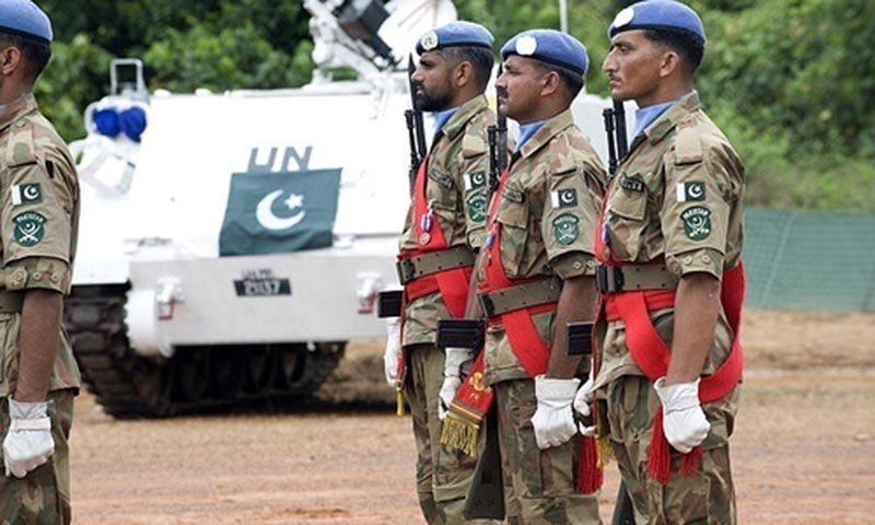 Pakistan's first UN peacekeeping mission began in 1960 in Congo. — Photo courtesy Radio Pakistan/File