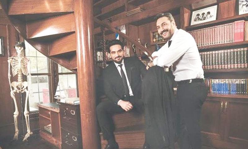 عدنان صدیقی اور ہمایوں سعید بھی ترک لالا کے پروڈیوسرز میں شامل ہوں گے—فوٹو: ٹپو جویری/ ڈان آئیکون