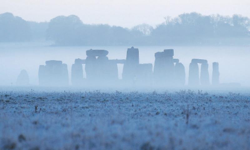THIS Nov 4, 2020, file photo shows Stonehenge at dawn.—Reuters