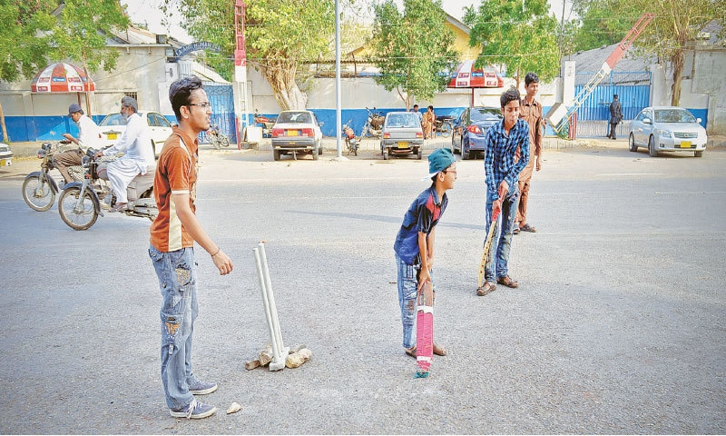 Due to a severe lack of playgrounds in the city, children and young persons are forced to play on the streets | Fahim Siddiqi/White Star