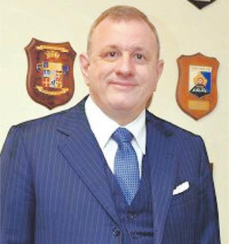 Andreas Ferrarese, Italian Ambassador