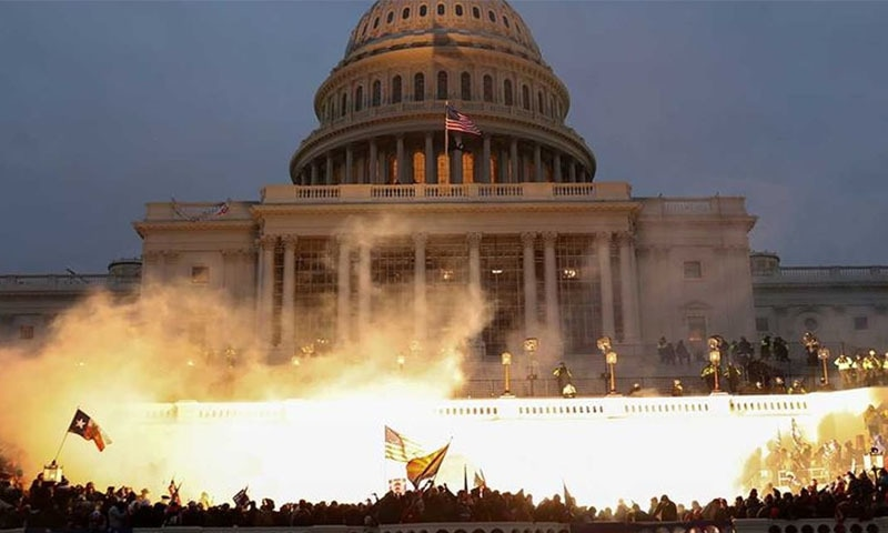 پارلیمنٹ پر حملے کی تفتیش نائن  الیون طرز کا کمیشن کرے، امریکی اراکین سینیٹ