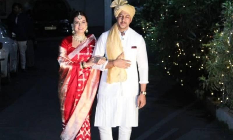دیا مرزا نے دوسری شادی رواں برس 14 فروری کو کی تھی—فائل فوٹو: انسٹاگرام
