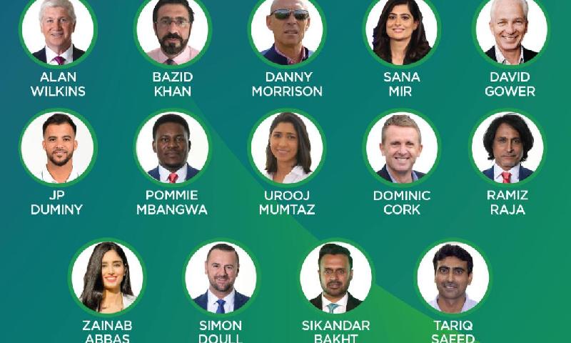 ڈینی موریسن کراچی میں شیڈول میچوں میں کمنٹری کریں گے—فوٹو: پی سی بی