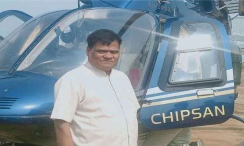 ٹریفک سے پریشان بیوپاری نے کروڑوں کا ہیلی کاپٹر خریدلیا