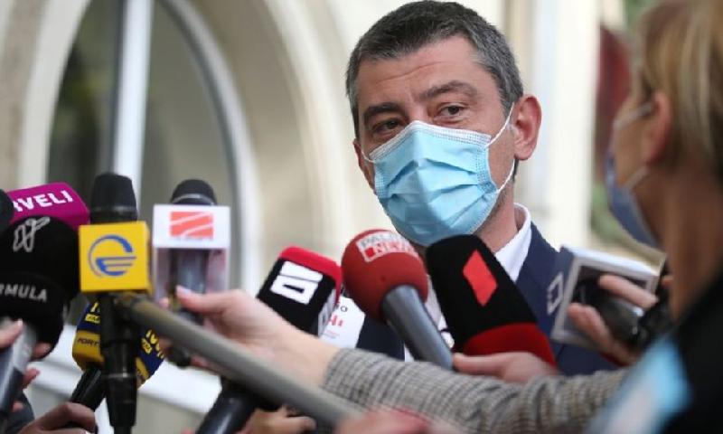 جارجیا کے وزیراعظم نے کہا کہ میرے استعفے سے ملک میں کشیدگی کم ہوگی—فوٹو: رائٹرز