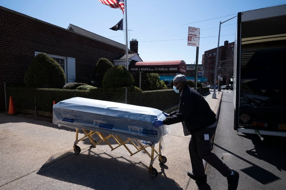 Life expectancy in the United States fell by a year in the first half of 2020 - the biggest decline since World War 2. — AP