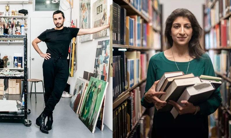 لینیٰ خان اور سلمان طور کو لسٹ کا حصہ بنایا گیا ہے—فوٹو: ٹائم میگزین
