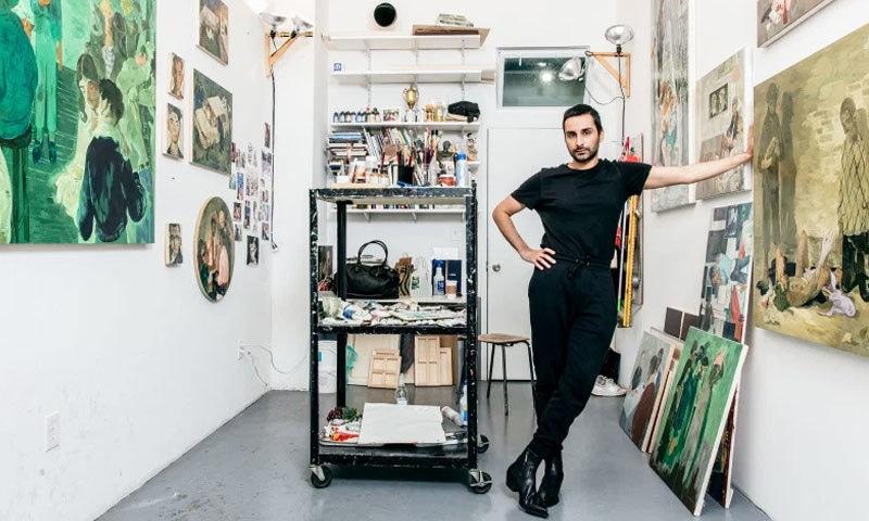 سلمان طور کو آرٹسٹس کی فہرست میں رکھا گیا ہے—فوٹو: ٹائم میگزین