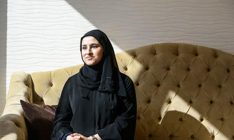 ماراتی نژاد سارہ الامری بھی فہرست کا حصہ ہیں—فوٹو: ٹائم میگزین