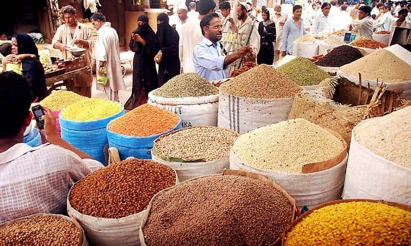 Weekly inflation for the combined group in the period ended on Feb 18 increased by 0.55 per cent on the back of an uptick in prices of essential food items. — File photo