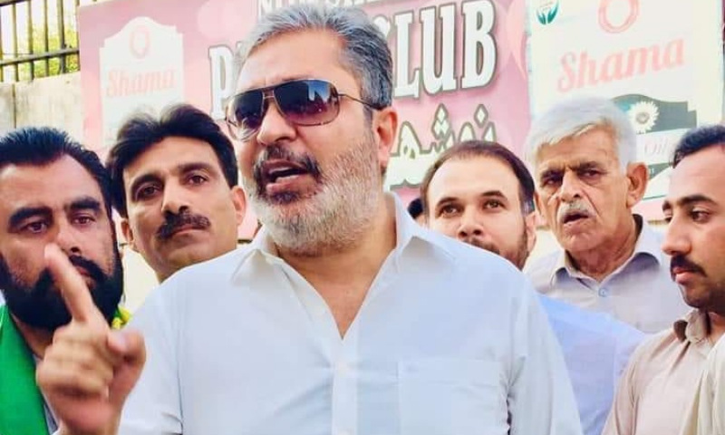 PML-N candidate Ikhtiar Wali, who also enjoyed support of the opposition alliance Pakistan Democratic Movement, won the by-election by securing 21,112 votes. — Photo courtesy Ikhtiar Wali Facebook