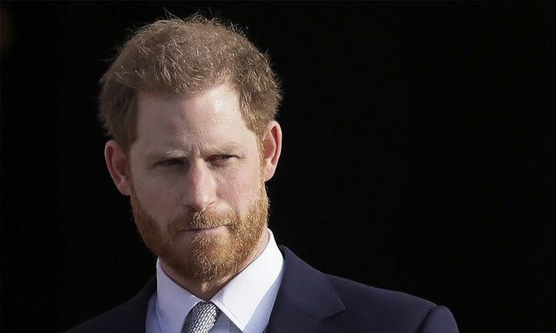 شاہی خاندان کے فرد ہونے کے ناطے ہیری ہمیشہ شہزادے رہیں گے—فائل فوٹو: اے پی