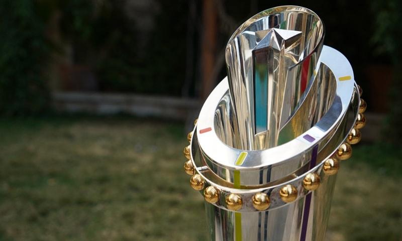 پاکستان سپر لیگ 2021 کی ٹرافی کی رونمائی کردی گئی